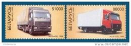 Belarus 1999 Mih. 336/37 MAZ Trucks MNH ** - Belarus