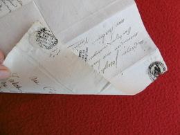 INEDIT LETTRE AVEC REPONSE MICHEL LOUIS TALOT MARQUE REPRÉSENTANT DU PEUPLE FRANCAIS 1797 A LIRE - Postmark Collection (Covers)
