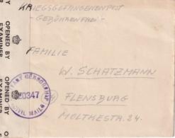 ALLEMAGNE 1947 ZONE ANGLO-AMERICAINE LETTRE DE PRISONNIER DE GUERRE  MUNSTERLAGER - American/British Zone