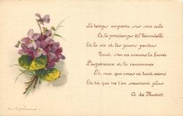 TOP 293 - CPA Original  Fleurs -  Signée  Catharina KLEIN  -  Voir Scan Recto Verso - Klein, Catharina