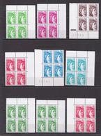 N° 1962 à 1979 Type Sabine Tire Du'une Oeure Du Peintre Louis David: Série En Bloc De 4 Timbres Neuf Impeccable - France