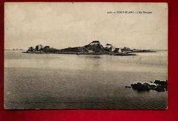 CPA 22 Penvénan Port Blanc L' Ile Marquer Buguélès ?? N° 2061 ... ((*_*))...Rare !! Mr Nicolas Rochejaquelein Australie - Penvénan