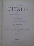 à Travers L'italie A. DE MAZADE Boulanger-chaix 1879-1901 - Livres, BD, Revues