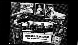 CG18 - 1960 Italia - 3° Mostra Filatelica Nazionale - Città Di Somma Lombardo 4/9/1860 - Filatelia & Monete