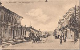 Storojinet - Str. Jancu Nistor - Сторожинець - & Horse Carriage - Ucrania