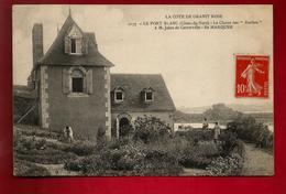 CPA Animée 22 Penvénan Port Blanc Chalet Des Roches Jules De Cuverville Île Marquer - Entre Buguélès Et Port Blanc - Penvénan