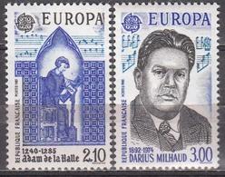 France 1985 Darius Milhaud Michel 2497-98 MNH 26120 - Music