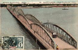 CPA AK Saint-Louis - Pont Faidherbe SENEGAL (778778) - Senegal