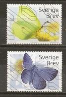 Suede Sweden 2017 Papillons Butterflies Obl - Zweden