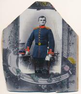 KAB Beschnitten Coloriert - Danzig Gdansk - Soldat Aus Danziger Infanterie-Regiment Nr. 128 - Ca. 1910 - Danzig