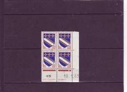 N° 1353 - 0,10 TROYES - B De A+B - 1° Tirage Du 2.11 Au 8.2.63 - 10.01.1963 - - 1960-1969
