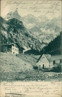 Ansichtskarte Einödsbach-Oberstdorf (Allgäu) Dorfpartie 1899  - Oberstdorf