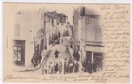 13 /ISTRES / RUE DES MARTIGUES /  BELLE CARTE / PRECURSEUR 1903 - Istres