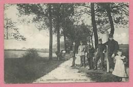 54 - 57 - DONCOURT - GRAVELOTTE - La Frontière - Douaniers - Cachet ST. PRIVAT - Francia