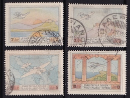 GREECE 1926 Airmail Patagonia Set  Vl. A 1 / A 4 - Airmail
