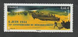 TIMBRE -  2014  -  70 éme Anniversaire Du Débarquement   -  N°  4863  -      Neuf Sans Charnière - Unused Stamps