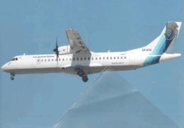 Iran Aseman Airlines Airways ATR-72 EP-ATU Airlines Airplane Boeing - 1946-....: Era Moderna