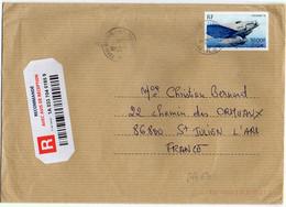 France Poste Aérienne N° 64 Y.et T. Sur Lettre Cachet Type A9 Paris Bourse Du 27/08/2009 - 1960-.... Cartas