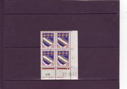 N° 1353 - 0,10 TROYES - B De A+B - 1° Tirage Du 2.11 Au 8.2.63 - 27.11.1962 - - 1960-1969
