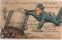 17 SAINTES  Carte Système (Artaud) Soulevez La Marmite Et Vous Verrez - Saintes