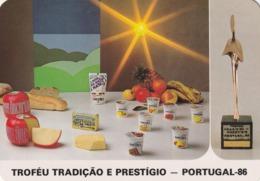 1987 Pocket Calendar Calandrier Calendario Portugal Queijo Cheese Fromage Queso - Calendarios