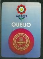 1988 Pocket Calendar Calandrier Calendario Portugal Queijo Cheese Fromage Queso - Calendars