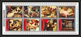 Manama - 3005/ N° 1248/1255 B Argent TABLEAU (PAINTING) Pinakotehek Munich ** MNH - Manama