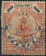1893 Cina Shangai, 2 Cent. Usato , Buone Condizioni - Cina