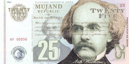 MUJAND REPUBLIC 25 ZILCHY 2013 PRIVATE ISSUE - Bankbiljetten