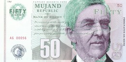 MUJAND REPUBLIC 50 ZILCHY 2013 PRIVATE ISSUE - Andere