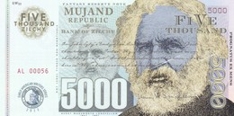 MUJAND REPUBLIC 5000 ZILCHY 2013 PRIVATE ISSUE - Andere