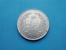 BIRMANIE  -  MYANMAR   -  50  Pyas  1328   -   Burma - Myanmar
