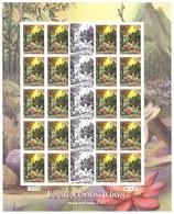 Polynésie Française Année 2011 Timbre 939 Feuille Feuillet Année Lunaire Chinoise Du Lièvre Famille De Lièvres - Frans-Polynesië