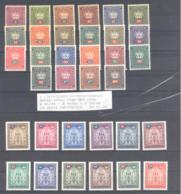 Liechtenstein  Michel #   D 35 - 68 **  34 Werte Komplett Aus ABO - Dienstzegels