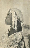 "6799"" LIBIA-VENERE SUDANESE ""-CARTOLINA POSTALE SPED.1941 - Libia"