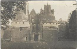 80 Rambures Le Chateau Carte Photo - France