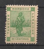 Maroc - 1898 - Tanger à Larache - N°Yv. 131 - 25c Vert-jaune - Neuf Luxe ** / MNH / Postfrisch - Lokalausgaben