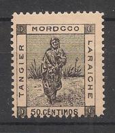 Maroc - 1898 - Tanger à Larache - N°Yv. 132 - 50c Gris-noir - Neuf Luxe ** / MNH / Postfrisch - Locals & Carriers