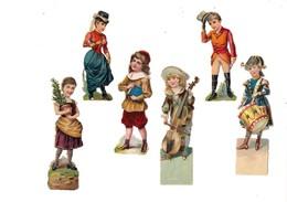 6 DECOUPIS GAUFFRES - ENFANTS - - Enfants