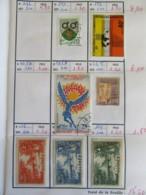 Petit Prix ! Carnet De Timbres Ex-colonies Françaises Oblitérés + Qqles Neufs* Dont Gabon, Guinée, Guadeloupe, Etc... - Collections