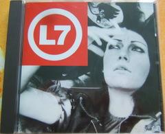 CD - L7 / THE BEAUTY PROCESS: TRIPLE PLATINUM - SLASH RECORDS - Hard Rock & Metal
