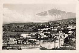Espagne Tenerife Icod Y Pico De Teide + Timbre Cachet 1935 - Tenerife