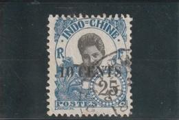INDOCHINE  Timbre De 1907 Avec Surcharge N° 79 Oblitéré - Usados