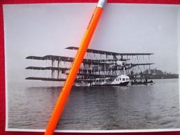 FOTOGRAFIA  AEREO IDROVOLANTE CAPRONI CA 60 - Aviation