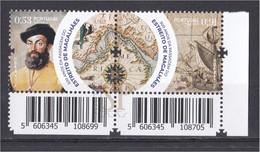 Portugal Espanha 2020 500 Anos Expedição Fernão Magalhães Belgian Post Exploradores Navegación Explorers Elcano - Explorers