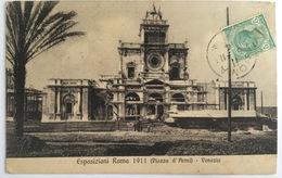 V 72644 Roma - Esposizioni 1911 - Piazza D'Armi - Venezia - Expositions