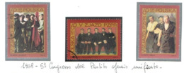 POLONIA (POLAND) - SG 1862.1864 - 1968  UNITED WORKERS PARTY CONGRESS  (COMPLET SET OF 3)      - USED° - RIF. CP - 1944-.... Repubblica
