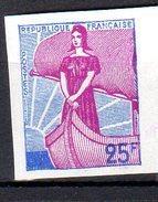 MARIANNE A LA NEF 1959 - 25F (N°1216**): Essais De Couleur - 1959-60 Marianne (am Bug)