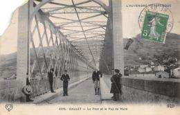 Dallet (63) - Le Pont Et Le Puy De Mure - France