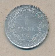 België/Belgique 1 Fr Albert1 1912 Vl Morin 293 (120314) - 07. 1 Franc